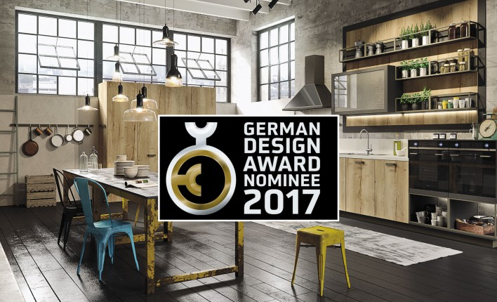cuisine Loft by Snaidero german design award 2017